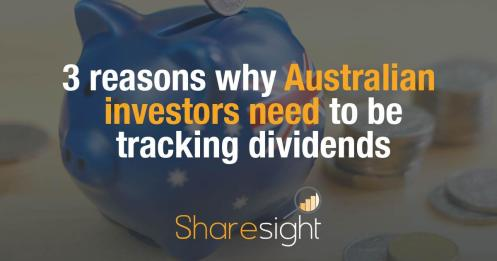 Australian dividend income tracking