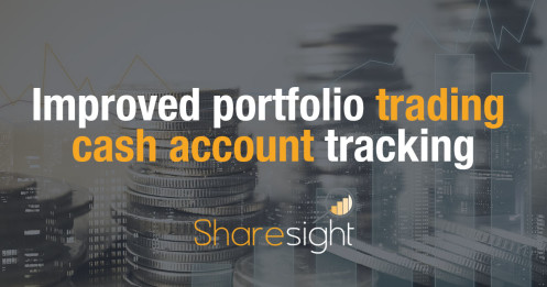 Trading cash account tracking