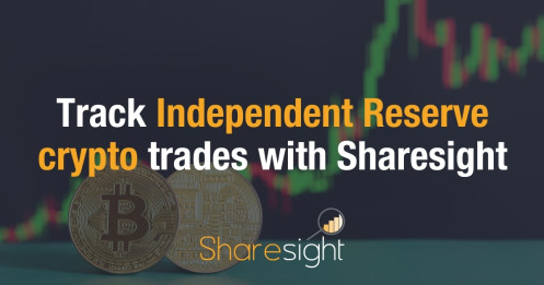 Track your Independent Reserve cryptocurrency trades with Sharesight