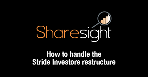 Stride Investore restructure - featured