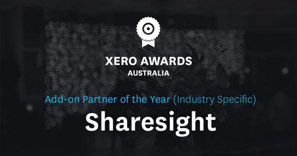 Sharesight Xero Add-On Partner 2014 - Featured