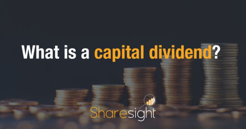 What is a capital dividend