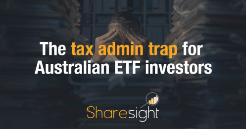 ETF tax admin Australia