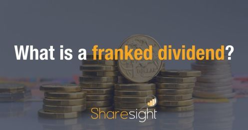 What is a franked dividend