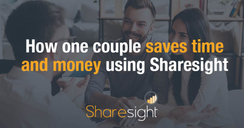 How one couple saves time and money using Sharesight