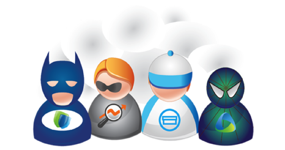 Cloud Superheroes - Featured