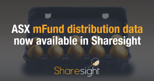 ASX mFund distribution data now available in Sharesight