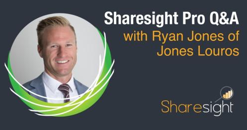 Ryan Jones Jones Louros Sharesight Pro