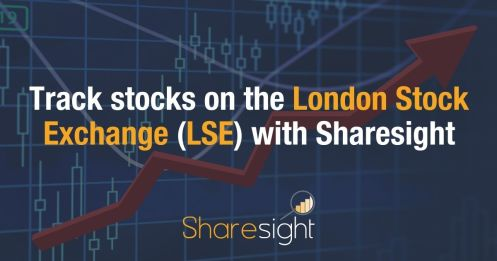 Track stocks on the LSE with Sharesight