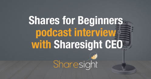 Shares for Beginners podcast interview with Sharesight CEO