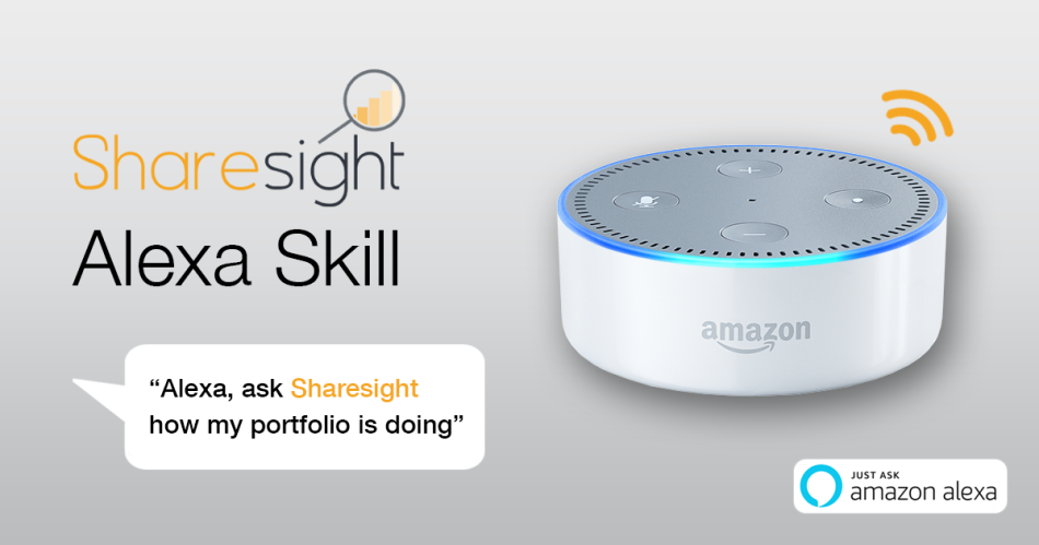 featured - Sharesight Amazon Alexa Skill