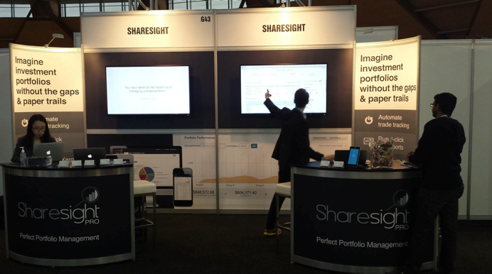 Xerocon Australia 2014 - Sharesight Booth