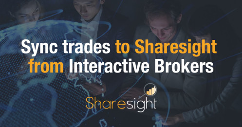 Sync trades to Sharesight from Interactive Brokers