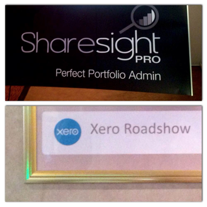 Greetings from the Perth Xero Roadshow