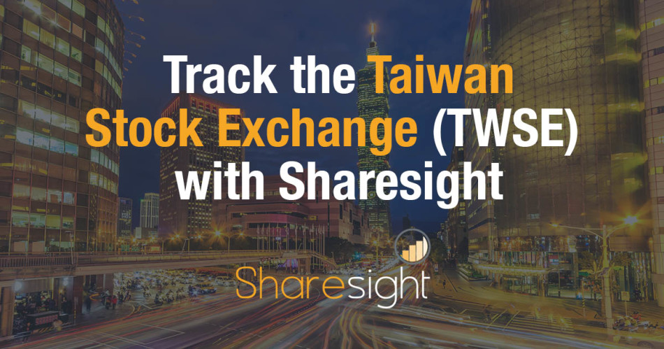 Track the Taiwan Stock Exchange (TWSE)