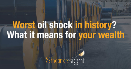 Worst oil shock in history What it means for your wealth
