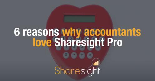 6 reasons why accountants love Sharesight Pro