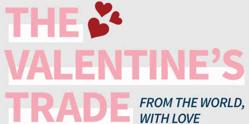 Infographic: How Valentine's Day As You Know It Is Made Possible By Global Trade