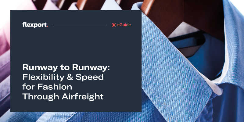 Runway to Runway: Flexibility & Speed for Fashion Through Airfreight