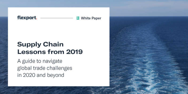Supply Chain Lessons from 2019