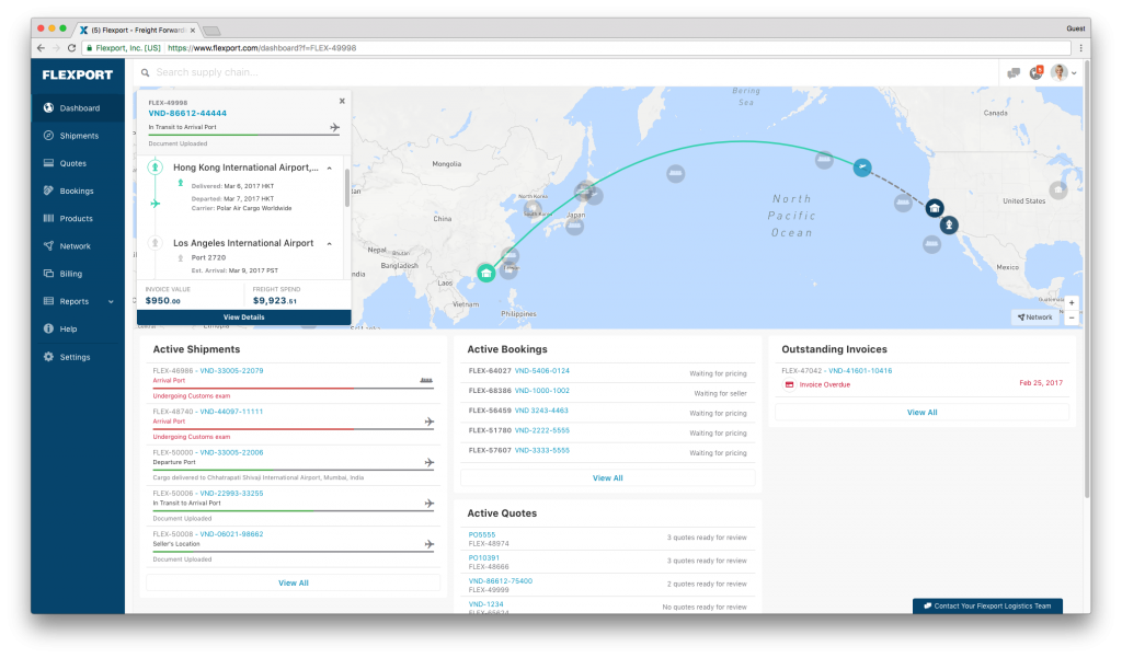 Bringing Predictability to Air Freight - Flexport