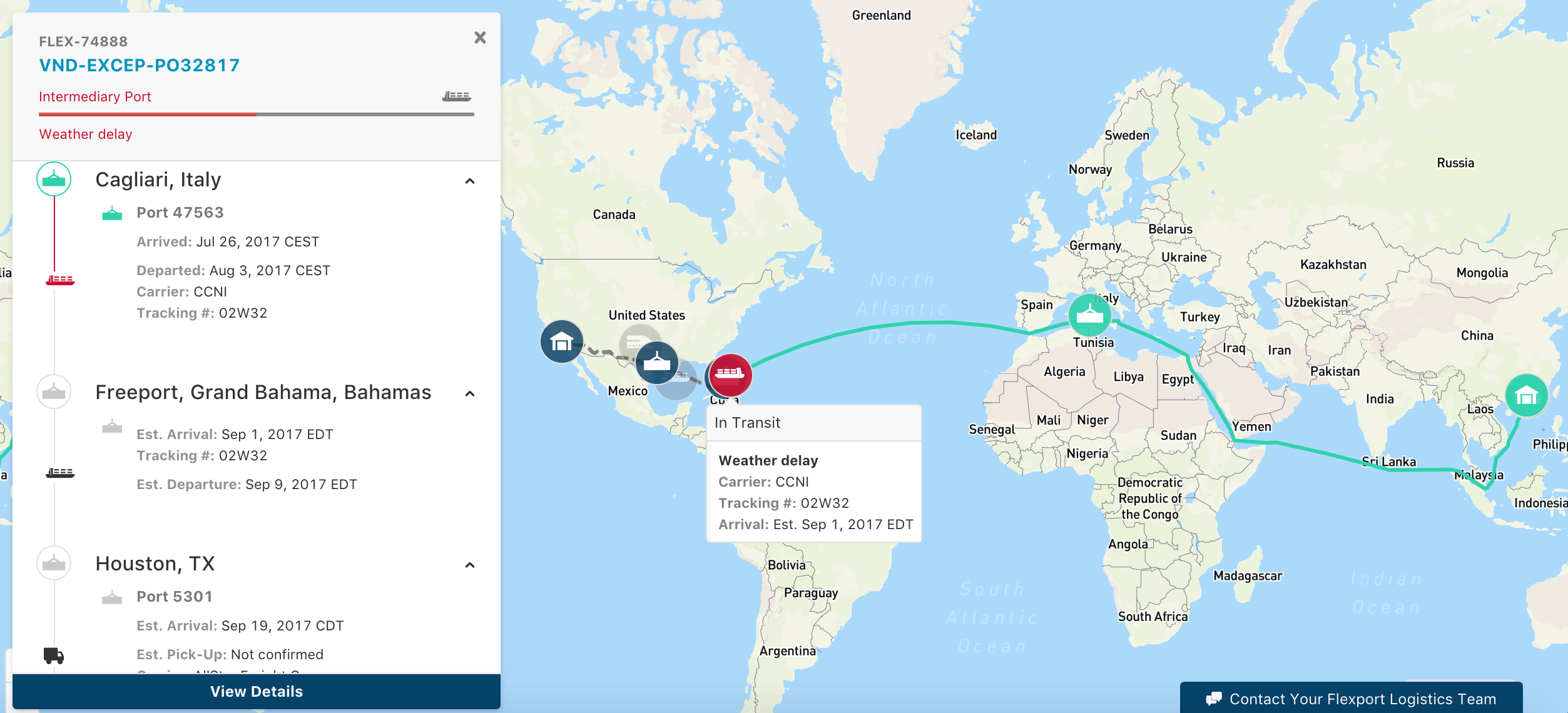 How Logistics Networks Respond to Natural Disasters - Flexport