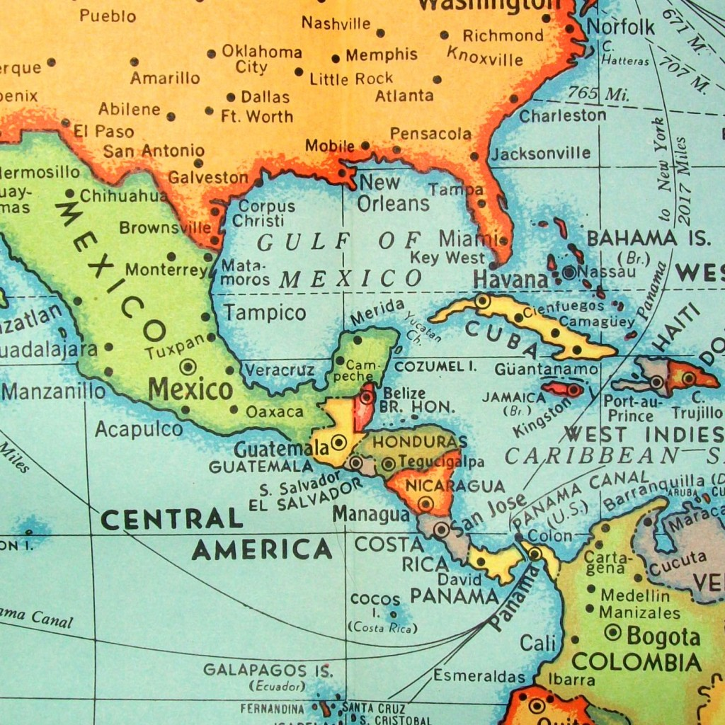 Panama Canal Location On World Map.The History And Future Of The Panama Canal
