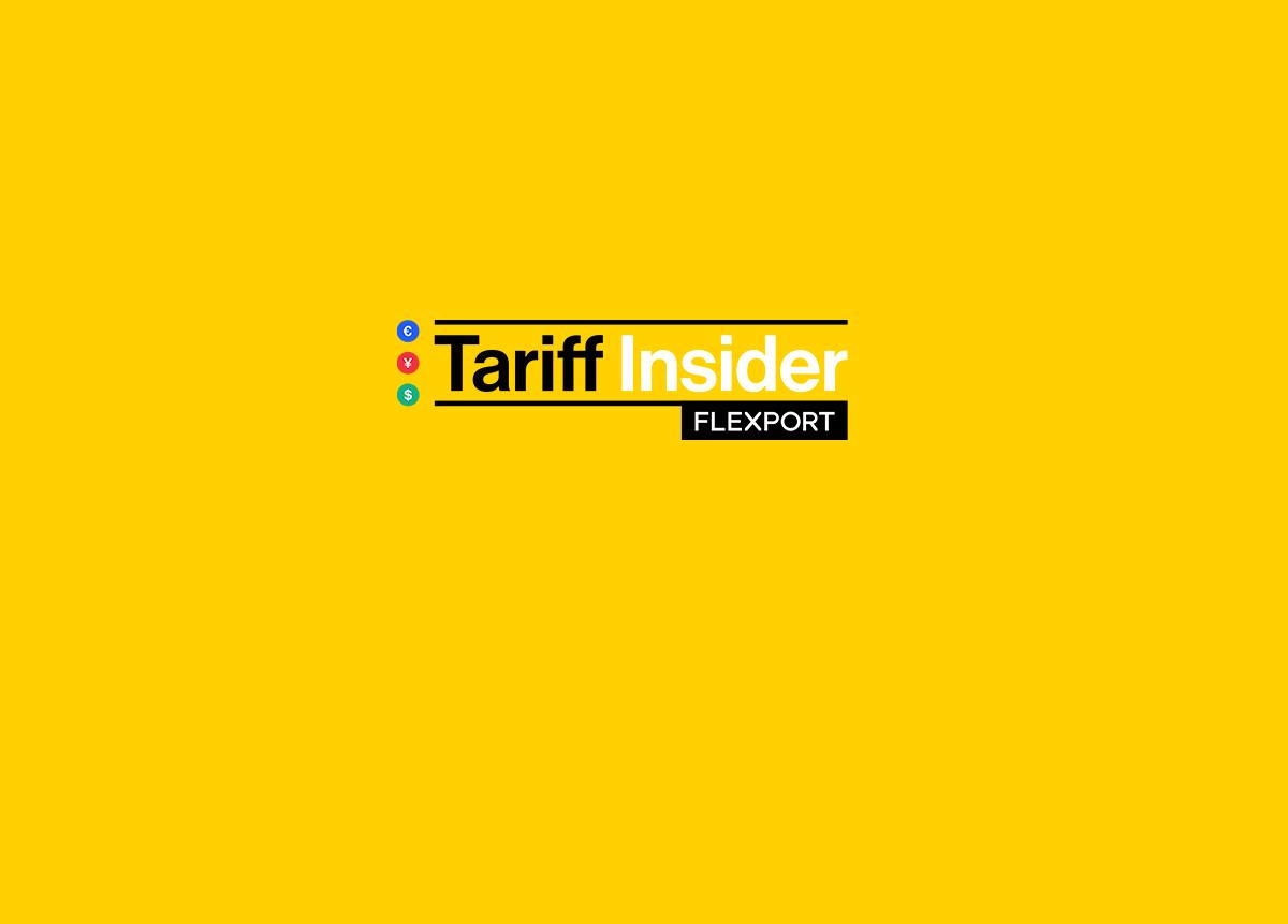 Tariff Insider: November 27, 2018   Trade War News