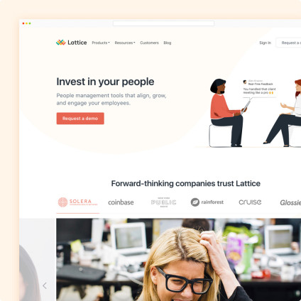 Lattice Landing Page Image