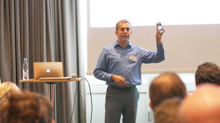 Chris McGrath presenting at instrateam