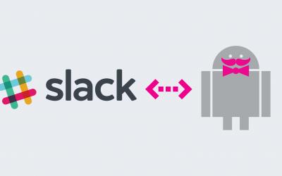 Slack to intranet connector