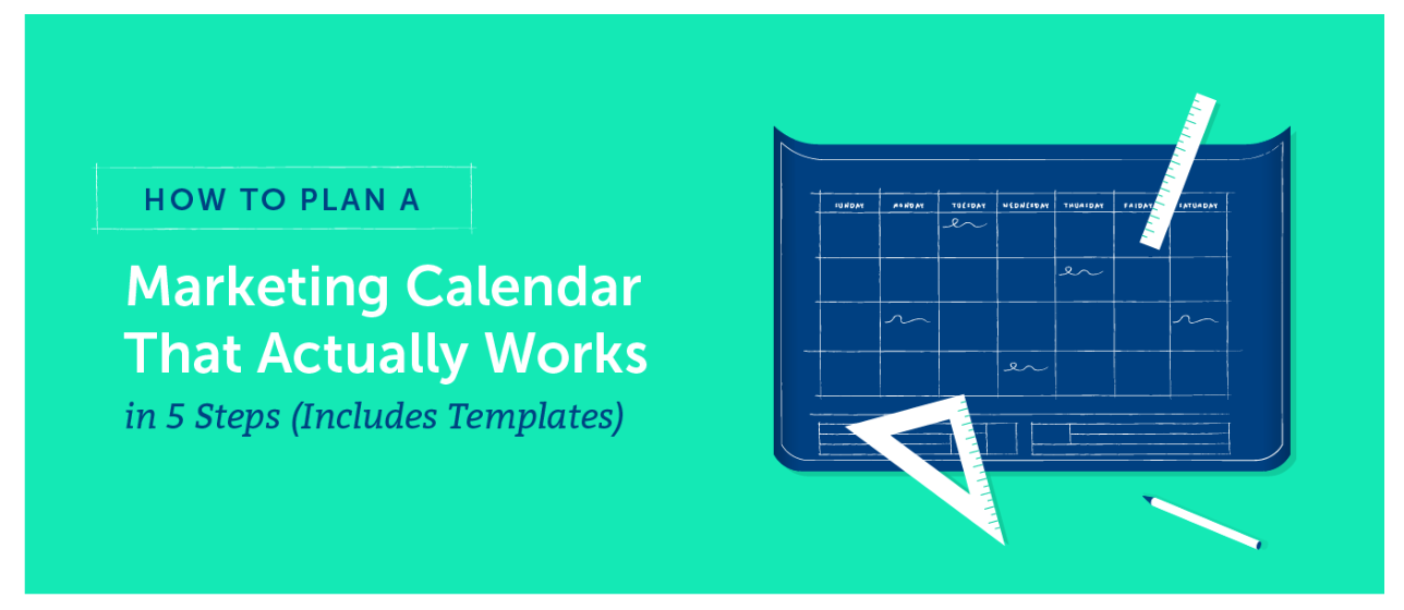 CoSchedule marketing calendar template