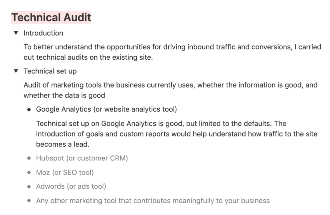 How to do a technical audit of your brand