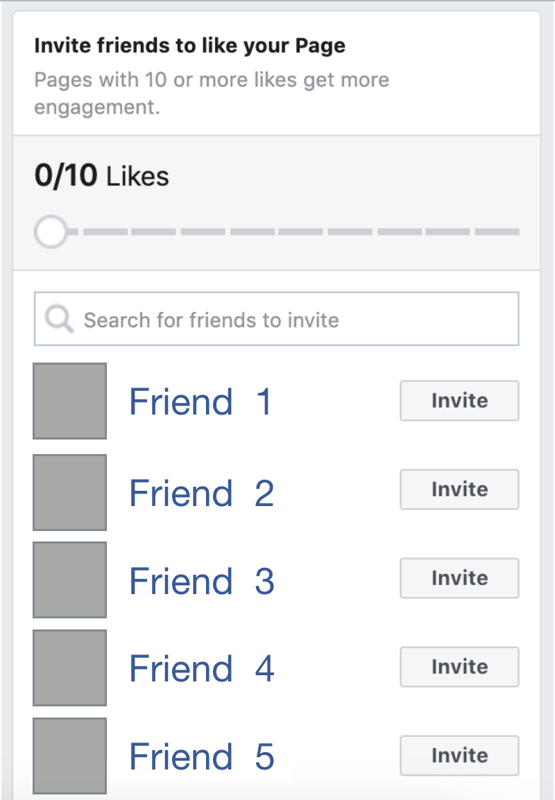 Facebook invite friends