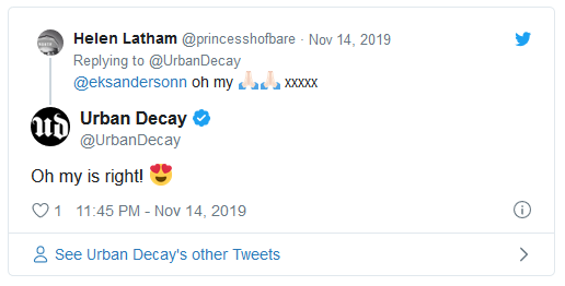 urban decay social media support