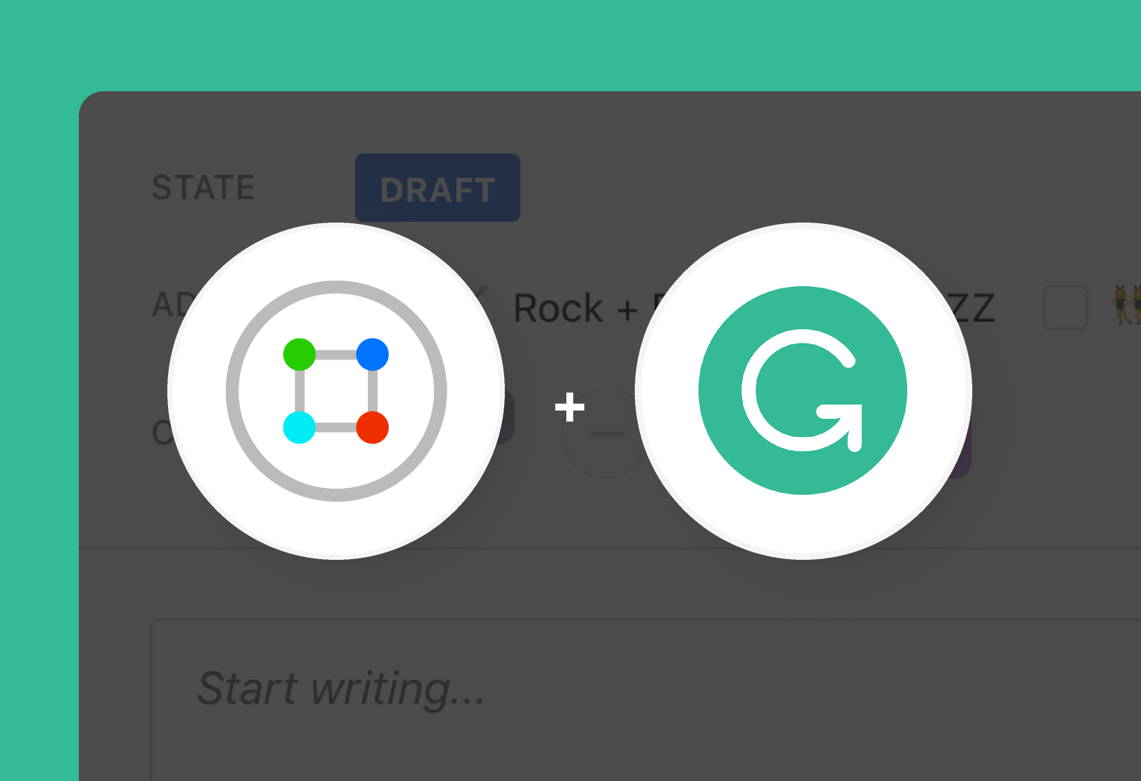 Grammarly and ContentCal