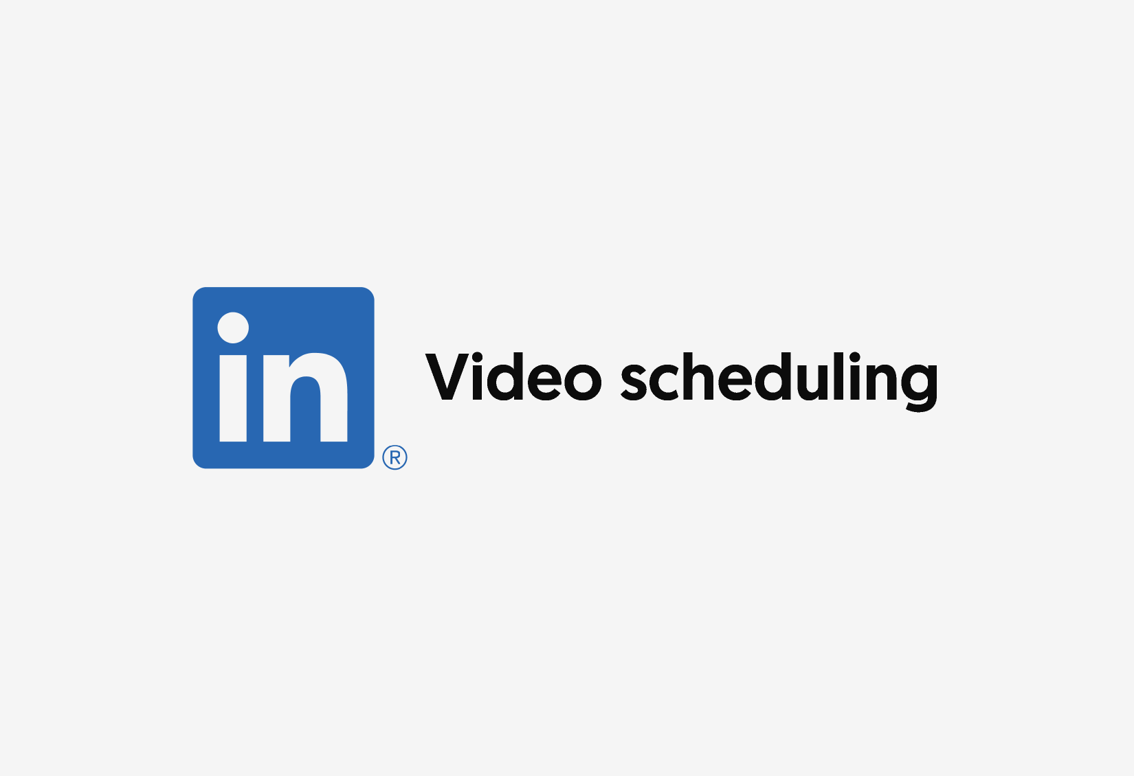 Scheduling LinkedIn Video