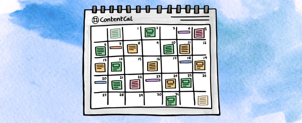 social media calendar monthly view