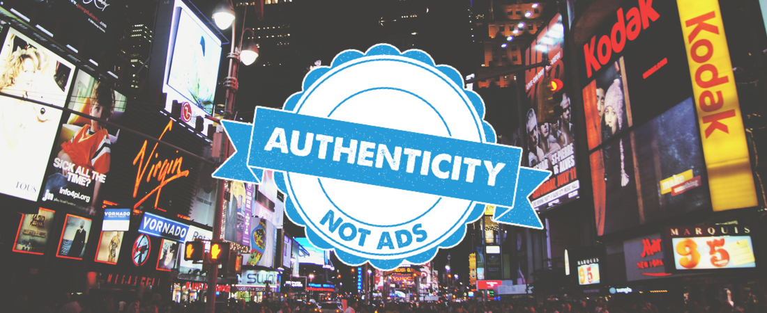followers want authenticity