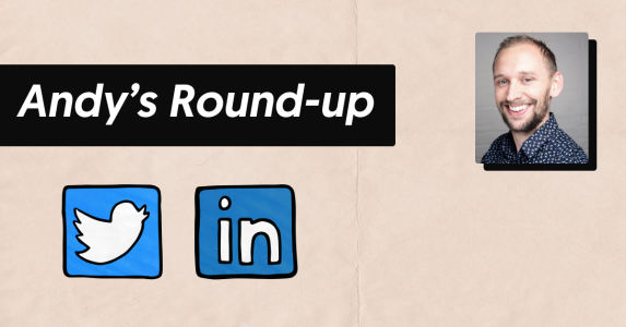 andy round up twitter linkedin