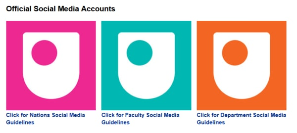 open university official social media accounts