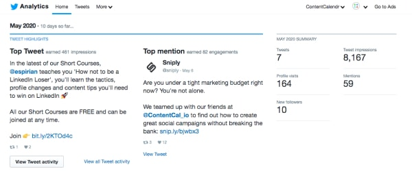 8 twitter insights