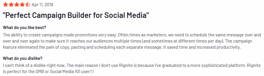 Rignite review