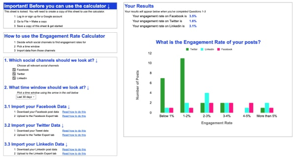 19-min engagement rate calculator