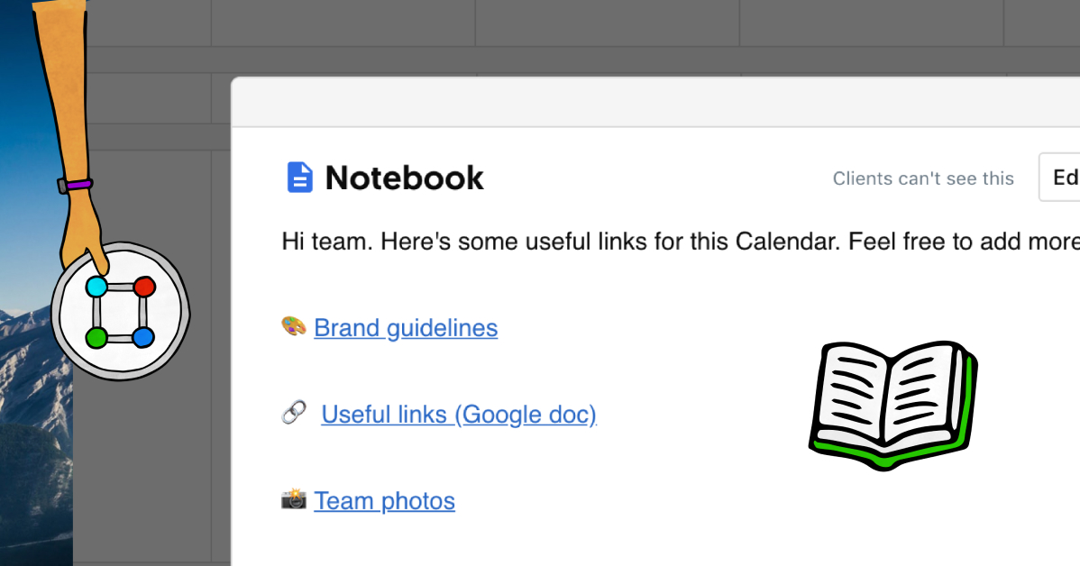 ContentCal Notebook hero