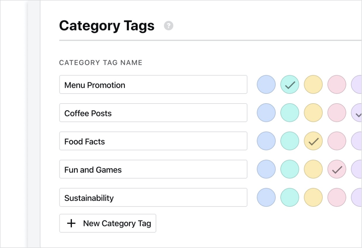 CategoryTags