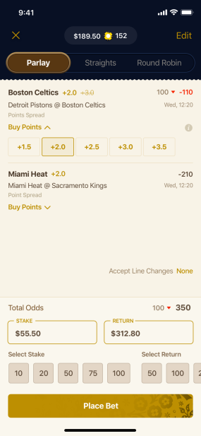 Improve Your Odds with 'Buy Points'