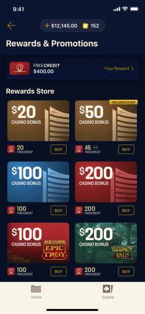 Redeem Rewards In-App