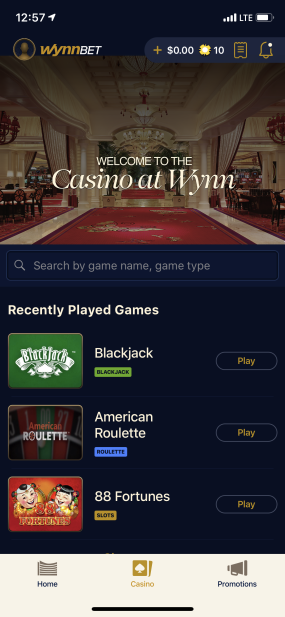 All Your Favorite Las Vegas-Style Games