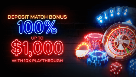$1,000 Deposit Match